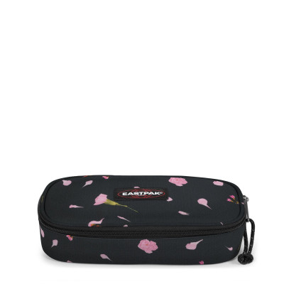 EASTPAK OVAL SINGLE CARNATION BLACK...